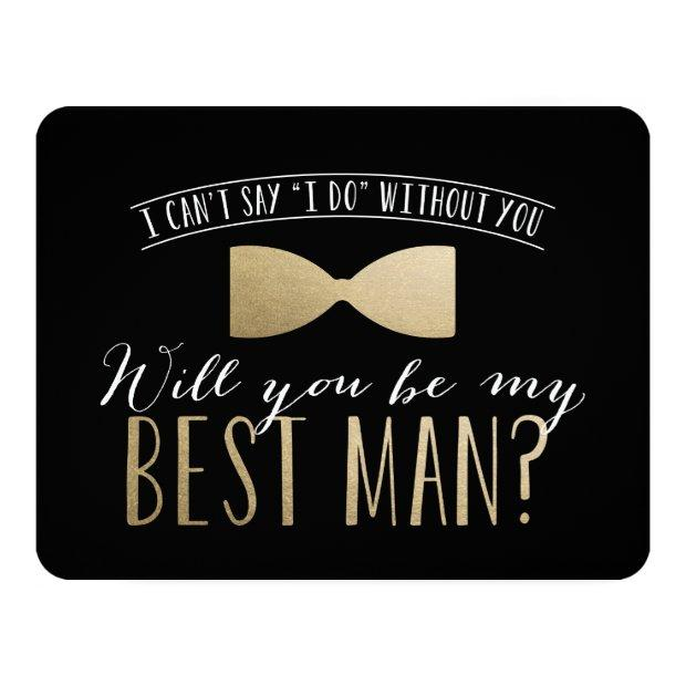 Will You Be My Best Man? | Groomsmen