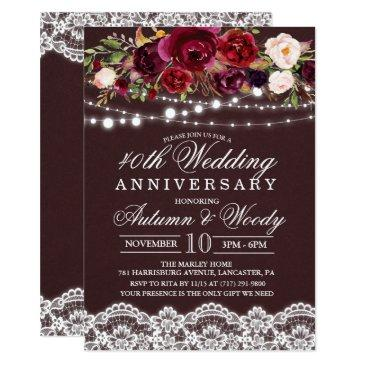 any year - floral wedding anniversary