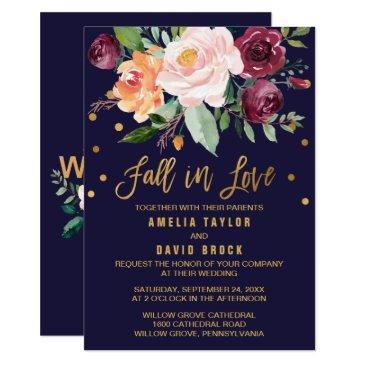 autumn floral | fall in love wedding