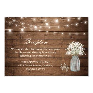 baby's breath string light reception accommodation