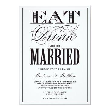 be married | wedding invitations