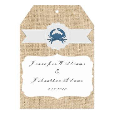 blue crab destination wedding
