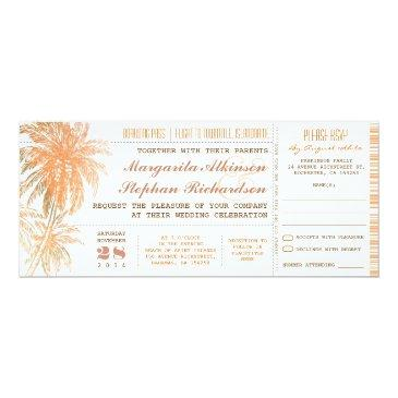 boarding pass tickets wedding invites with rsvp