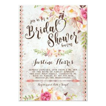 Small Boho Bridal Shower Front View