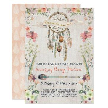 boho dream catcher bridal shower
