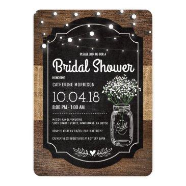 burlap baby breath wooden wedding