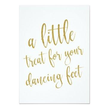 dancing shoes gold glitter affordable sign