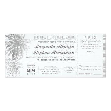 destination wedding tickets