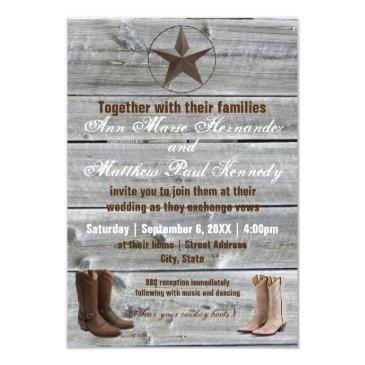 Cowboy Wedding Invitations Up To 40 Off On Rustic