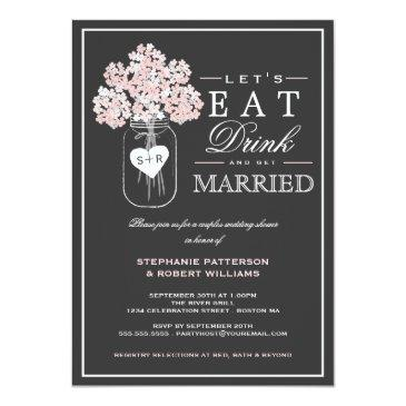 eat drink & get married couples shower