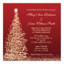 elegant christmas wedding red