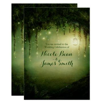 enchanted forest rustic wedding
