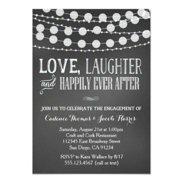 engagement party  chalkboard wedding