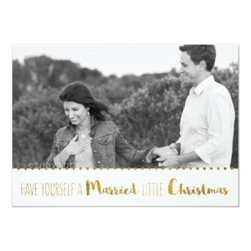 gold, marry and bright christmas save the date
