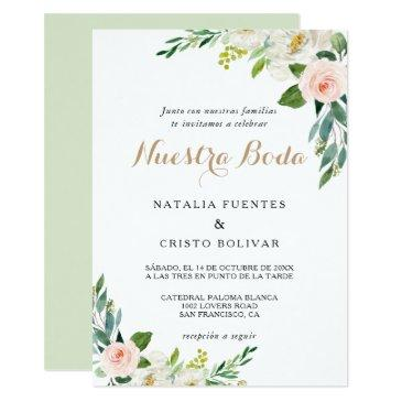 Spanish Wedding Invitations Up To 40 Off On Rustic