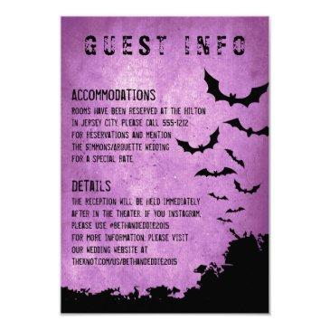 halloween information  with bats