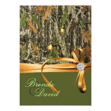 hunting camo wedding