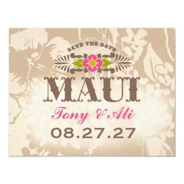 maui save the date linen