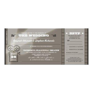 movie premiere wedding tickets