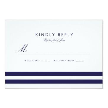 nautical navy wedding rsvp