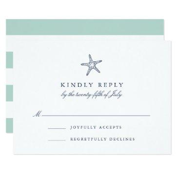 nautical starfish rsvp