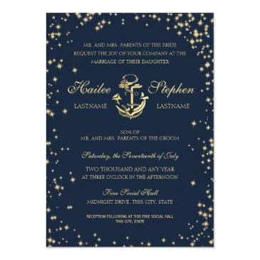 nautical starry sky wedding