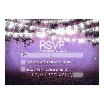night lanterns purple wedding rsvp
