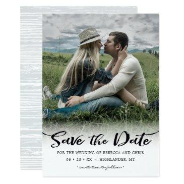 on the horizon, photo save the date