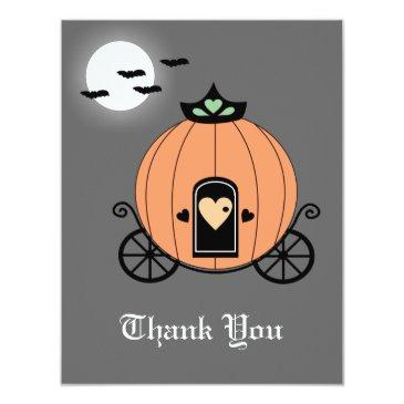 pumpkin carriage at night thank you