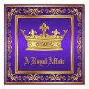purple gold crown royal birthday corporate party
