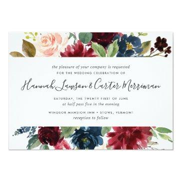 Small Radiant Bloom Floral Wedding  | Square Front View