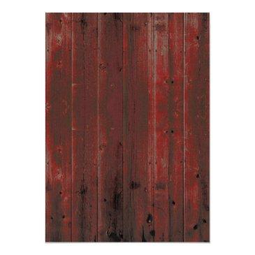 Small Red Barn Wood Rustic Sunflower Wedding Back View