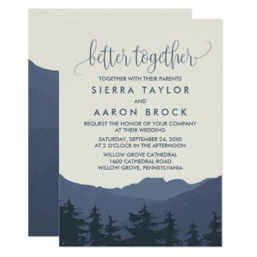 retreat to the mountains better together wedding