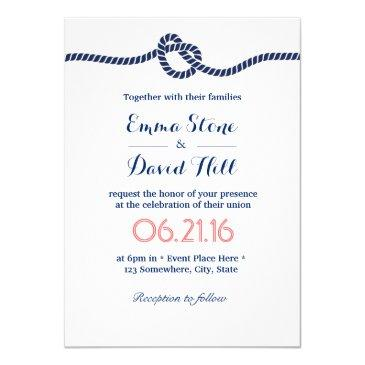 royal blue tying the knot nautical wedding