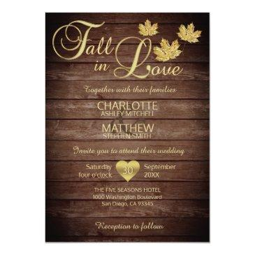 rustic barnwood country gold fall in love wedding