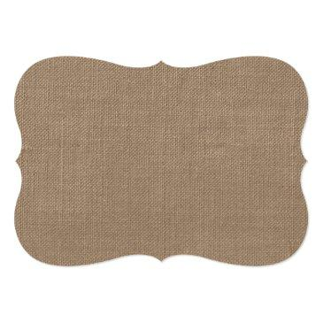 """Small Rustic Burlap """"please Sign Our Wedding Guest Book"""" Back View"""