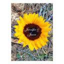 rustic country camo sunflower wedding invitationss