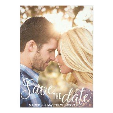 rustic country save the date  vintage