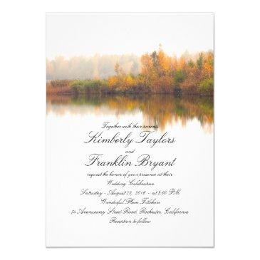 rustic fall elegant and simple wedding