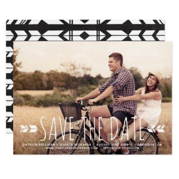 rustic handwritten typography tribal save the date