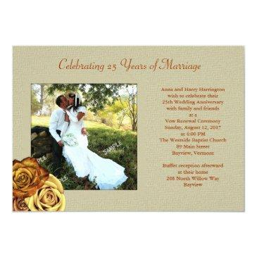 rustic roses photo marriage vow renewal