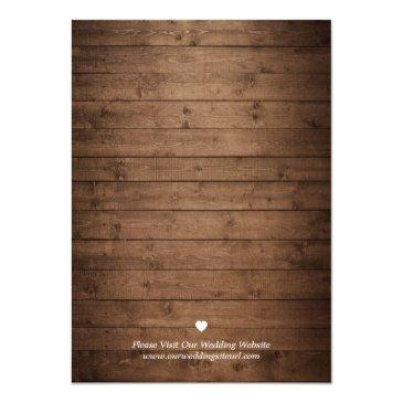 Small Save The Date Mason Jars Lights Rustic Wood Lace Invitationss Back View