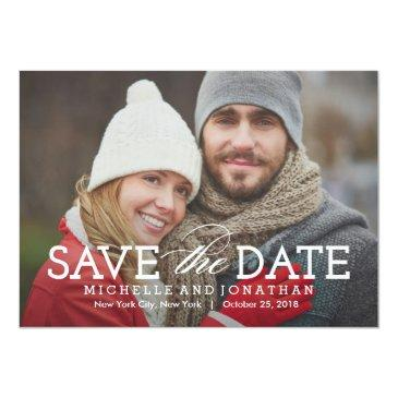 simply timeless photo save the date