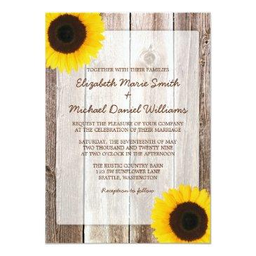sunflower rustic barn wood
