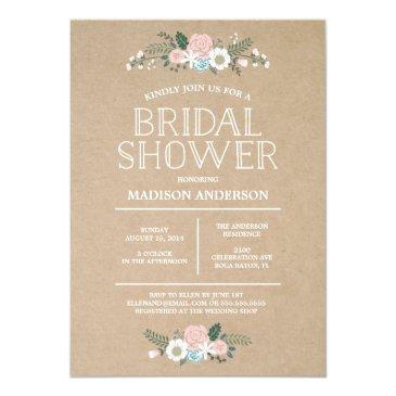 Small Sweet Floral | Bridal Shower Front View