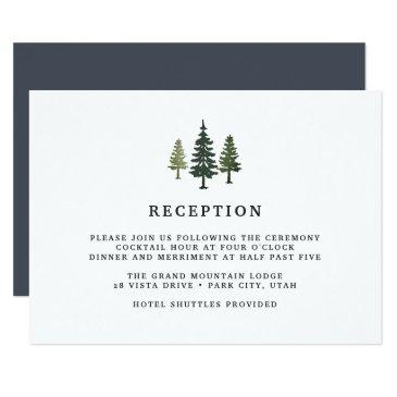 tall pines reception