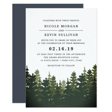 tall pines wedding