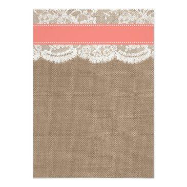 Small The Coral Sand Dollar Beach Wedding Collection Invitation Back View
