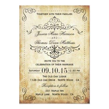 Small The Ornate Flourish Vintage Wedding Collection Front View