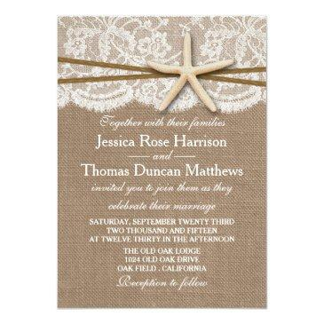 Small The Rustic Starfish Beach Wedding Collection Front View